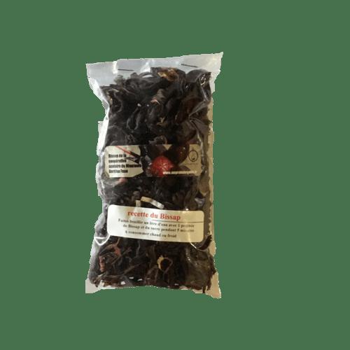 Bissap naturel ( Fleurs d'Hibiscus)